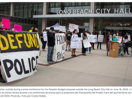 Long Beach People's Budget Prioritizes Needs of Blacks, People of Color, & Marginalized Communities