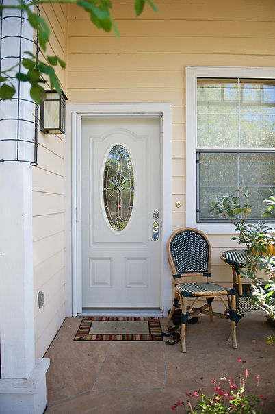 Front Door Patio