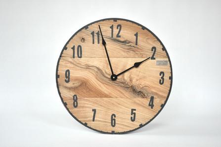 Zegar dębowy LOFT