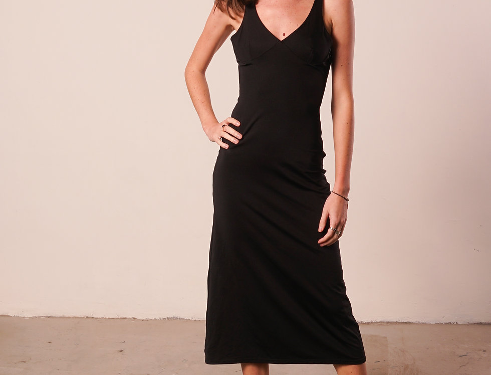 Black long dress Isabel Marant