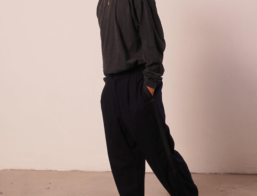 Woollen marine trousers