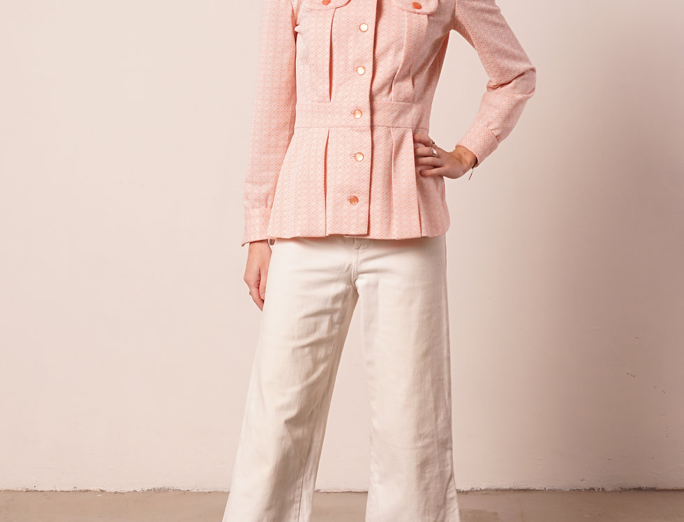 Pale pink70's jacket
