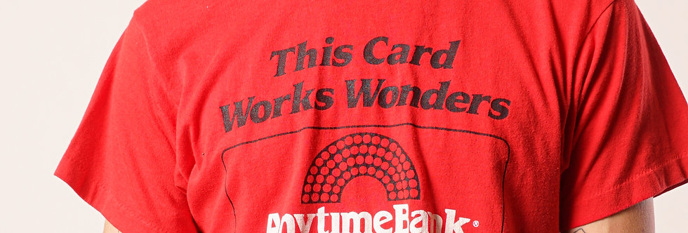 Anytime Bank t-shirt
