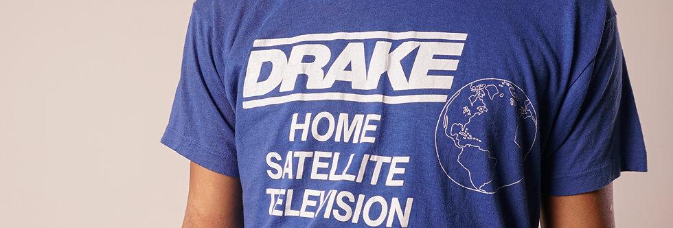 DRAKE home satellite television t-shirt