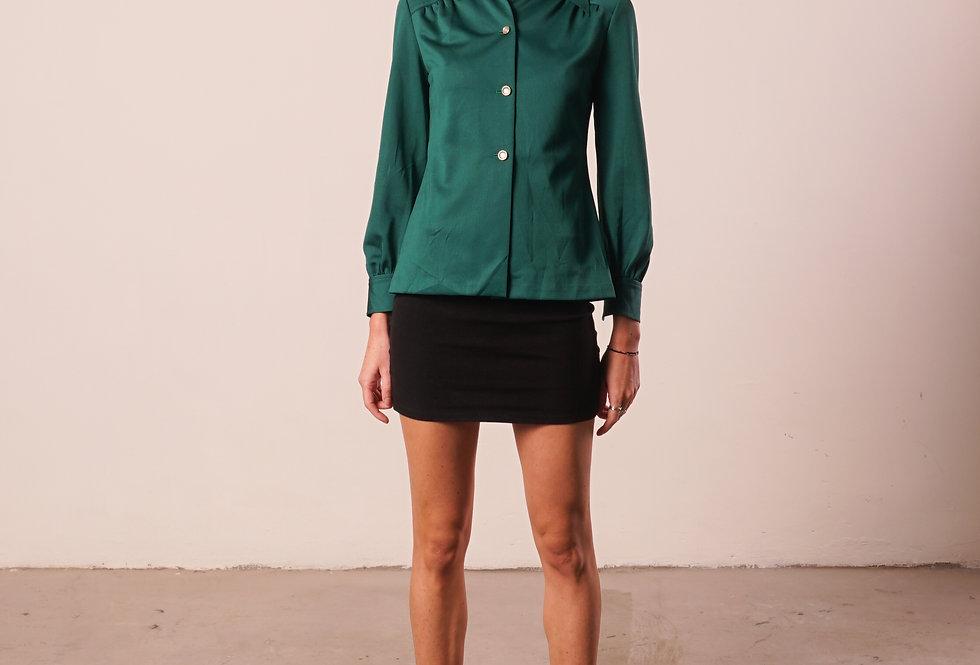 Green 70's shirt