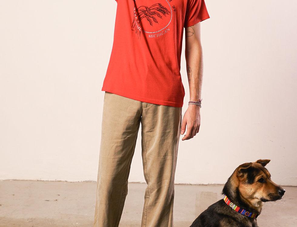 Red t-shirt Wheatland festival