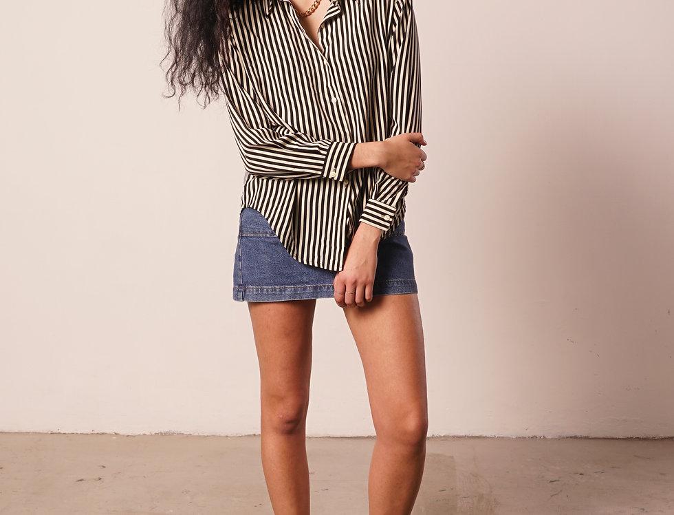 Black&White striped shirt