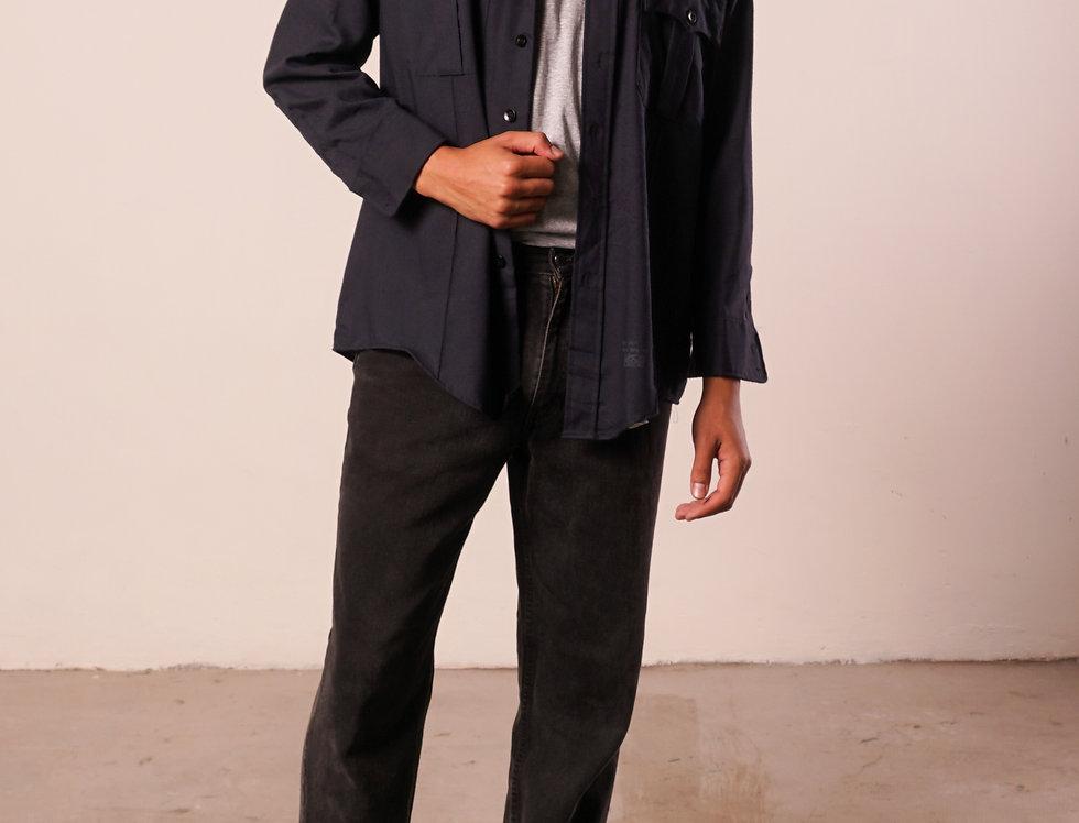 Navy shirt / jacket