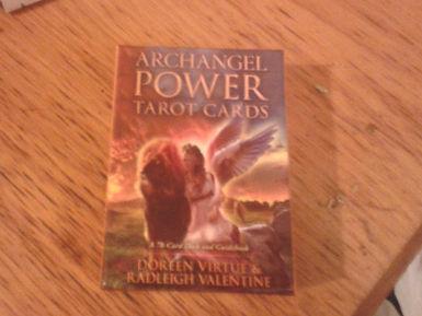 purpleshadowcrafts | Archangel Power Tarot Cards