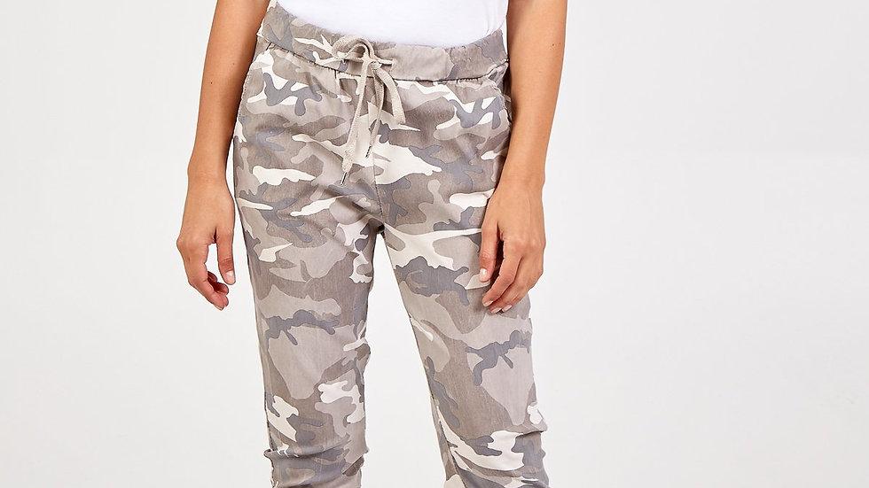Stone Camouflage Magic Pants