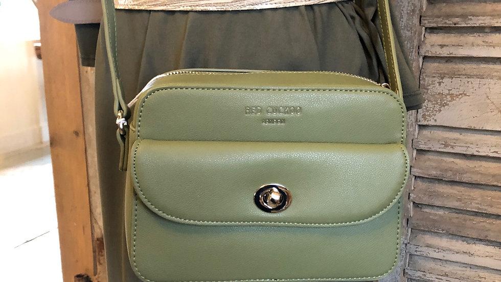 Red Cuckoo London - Green crossbody bag