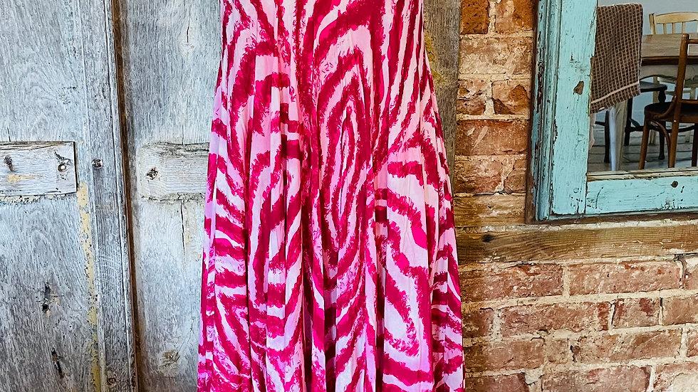 Summer zig zag dress