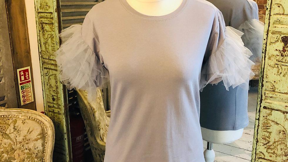 Puff Ball Sleeve T-Shirt