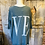 Thumbnail: Love 3/4 length sleeve jumper in teal green