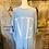 Thumbnail: Love 3/4 length sleeve jumper in baby blue