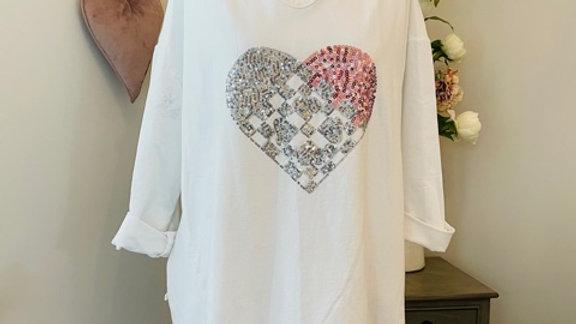 White Heart Top