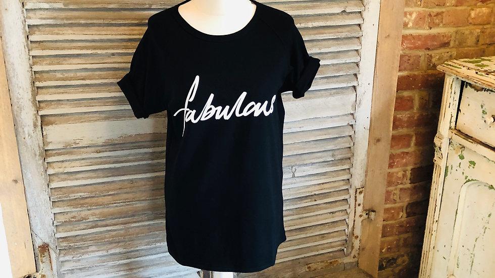 Black Fabulous t-shirt