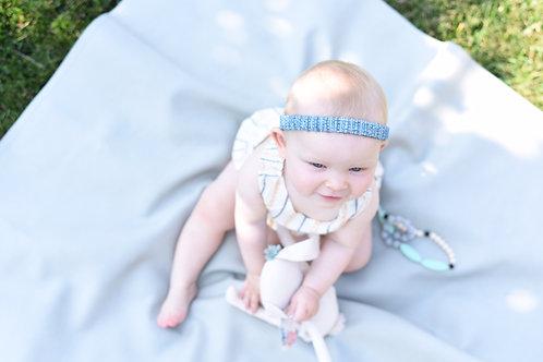 Cotton Blue Headband
