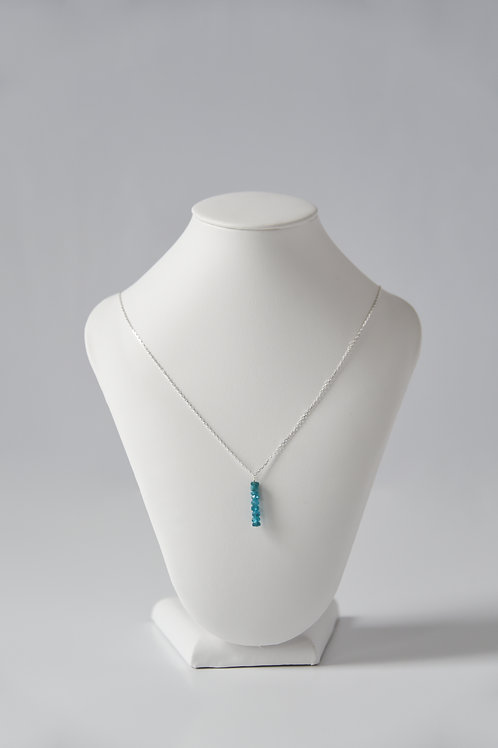 Apatite Drop Necklace