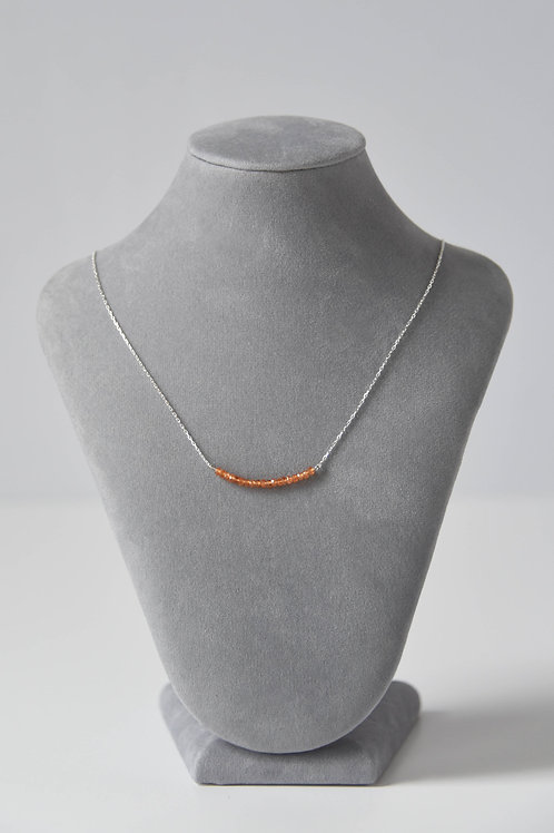 Spessartite Strand Necklace