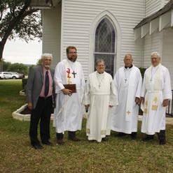 Guest Pastors for 125th Service