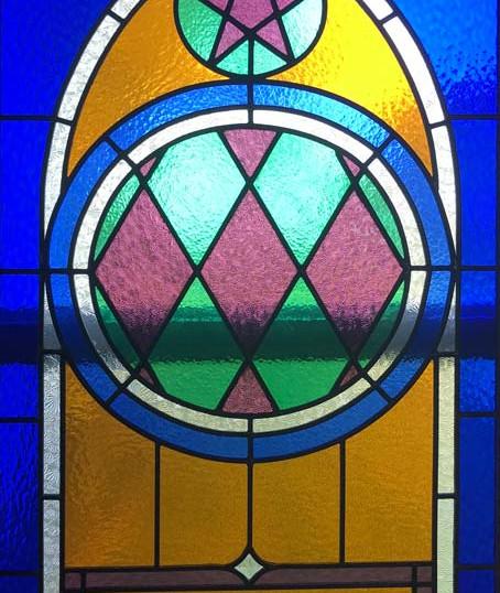 Original Steeple Stainglass