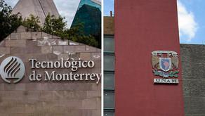 UNAM y el Tec dan más oportunidades de empleo a egresados: estudio