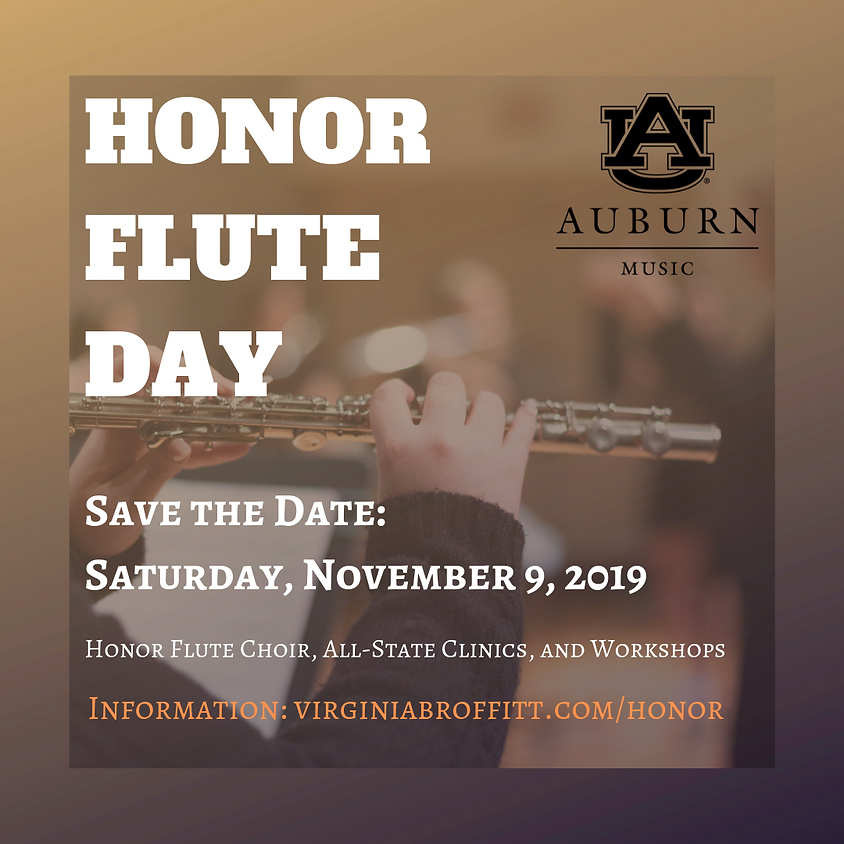 Auburn Honor Flute Day 2019