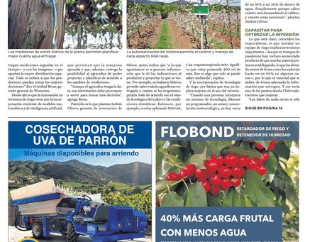 FloraPulse featured in Revista del Campo