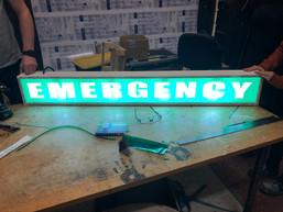 Emergency sign- courtesy of Nikcy Baillie