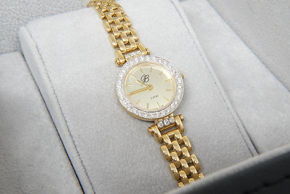 Women's 14k & Diamond Signature Watch