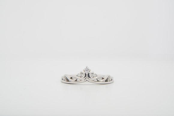 10k .08ctw Diamond 'Tiara' Ring
