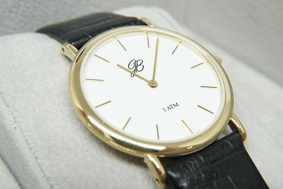 Women's Yellow Slim Signature Watch
