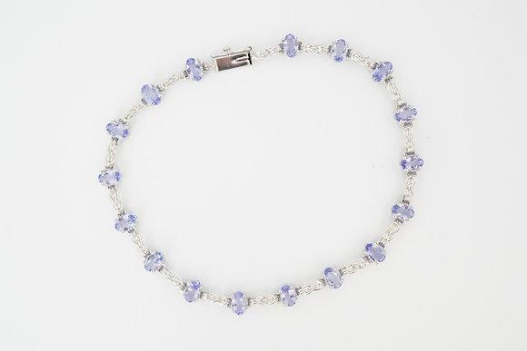 14k Tanzanite Bracelet
