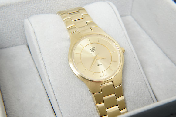 Women's Slim-Line Yellow Signature Watch