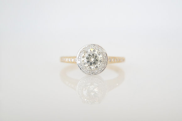 14k Two-Tone Sirius Star Ring