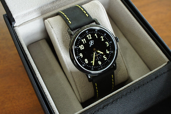 Men's Black Signature Watch
