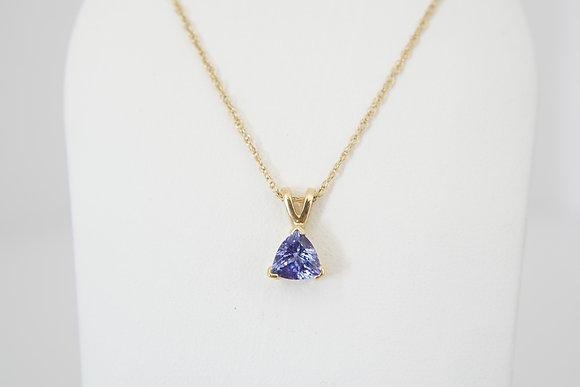 14k Trillian Tanzanite Necklace