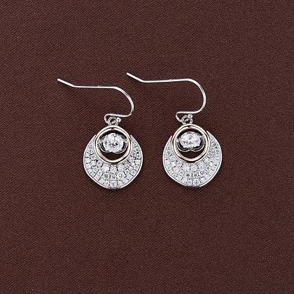 Twinkles Pavé Dangle Earrings