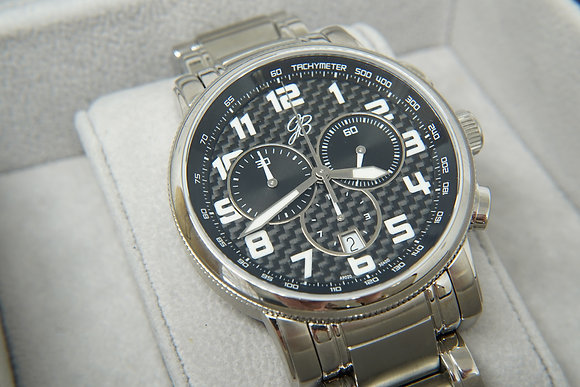 Men's Carbon Fiber Signature Watch