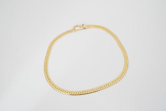 "14k 8"" 3.1mm Herringbone Bracelet"