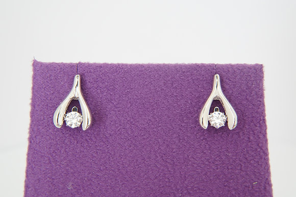 Twinkles Wishbone Earrings