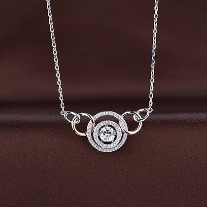 Twinkles Multi-Circle Stationary Necklace