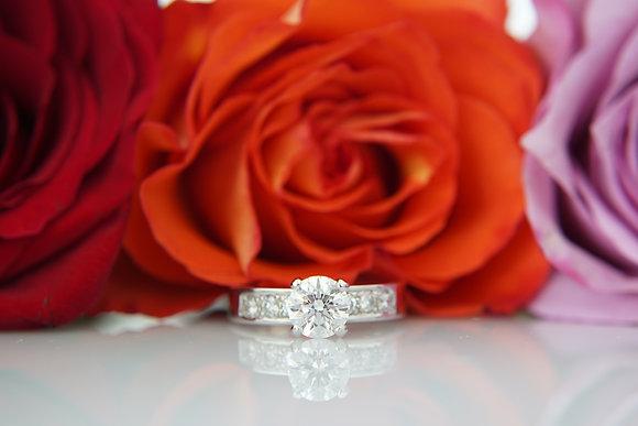 14k 1-1/3ctw Diamond Ring