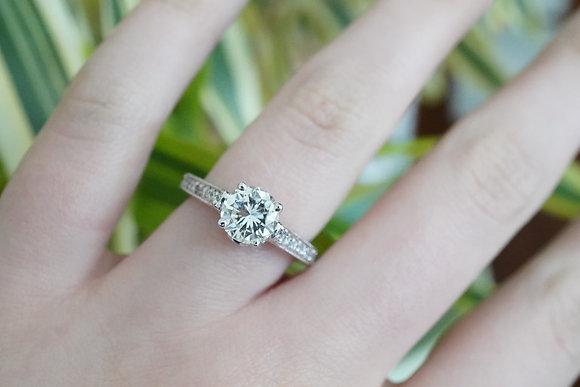 14k 1.31ct Diamond Ring