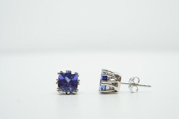 14k Tanzanite Earrings