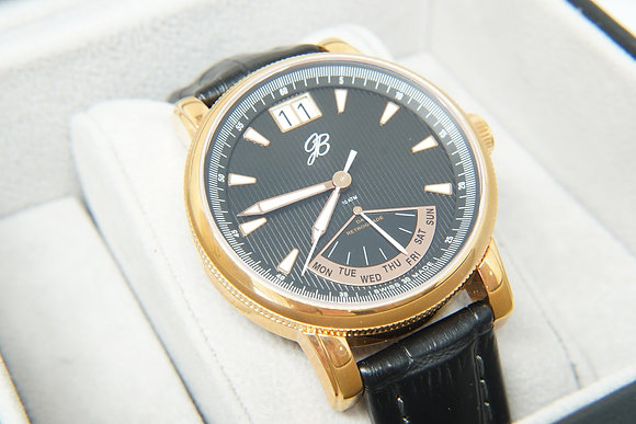 Men's Rose & Black Signature Watch
