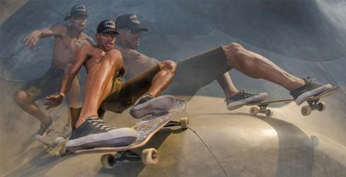 """Monkeyman"" Venice Skatepark"