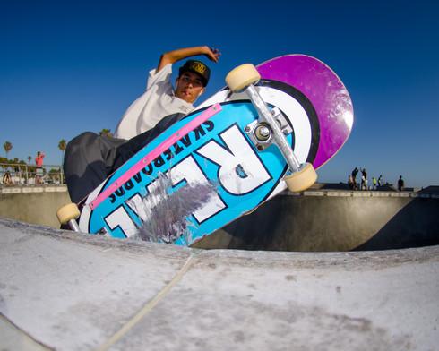 Real Skateboards Location:Venice Skatepark
