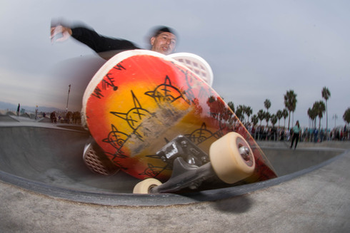 3rd Gen Z-Boy Joe Contreras Location:Venice Skatepark